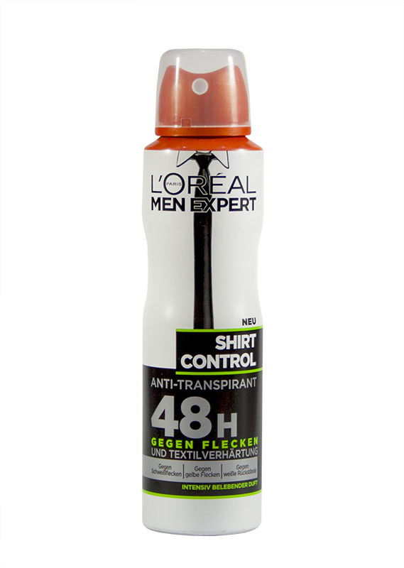 L'Oréal Men Expert Shirt Control antiperspirant
